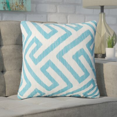 Swinford Geometric Square Outdoor Throw Pillow