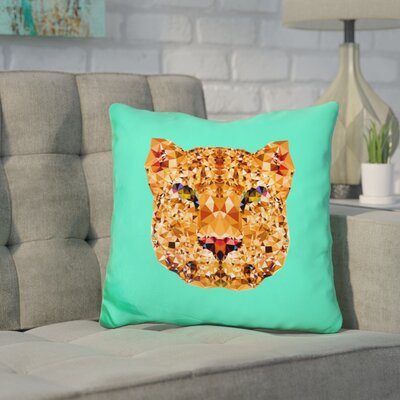 Corker Leopard Throw Pillow