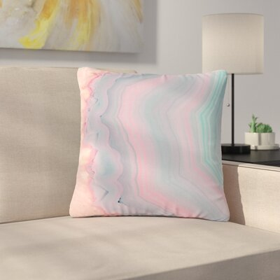 Cafelab Sweet Agate Outdoor Throw Pillow Size: 16 H x 16 W x 5 D