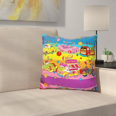 Vehicles Throw Pillow