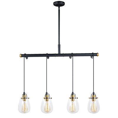 Haag Dual Mount 4-Light Kitchen Island Pendant