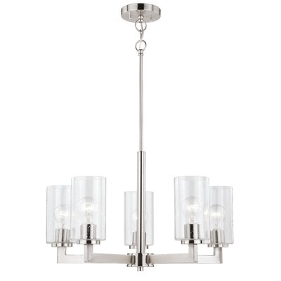 Starbuck 5-Light Candle-Style Chandelier