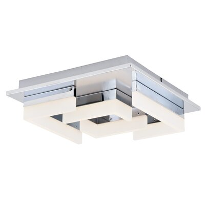 Stanton Prior Square 1-Light LED Flush Mount