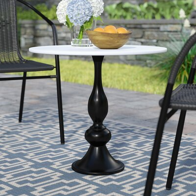 Goggans End Table Base Color: Black