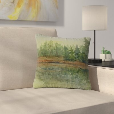 Cyndi Steen Reflections Outdoor Throw Pillow Size: 18 H x 18 W x 5 D