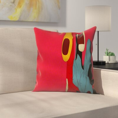 Kasi Minami Grim Reaper3 Throw Pillow Size: 14 x 14