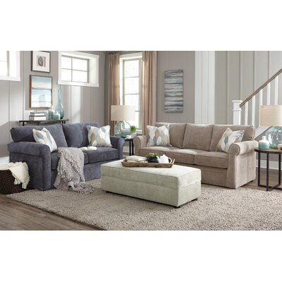 Brinegar Sleep Sofa Upholstery: Ciao Sage, Mattress Type: 4.5