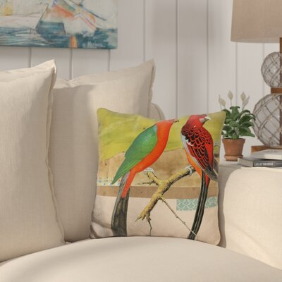Totterdell Birds Throw Pillow