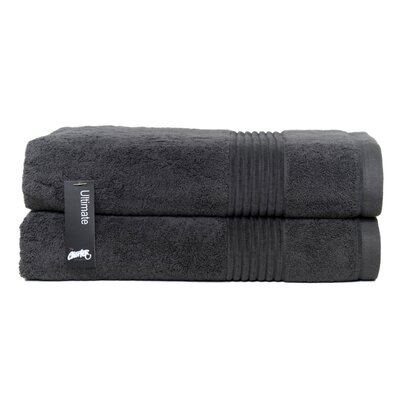 Ultimate Bath Sheet Color: Charcoal