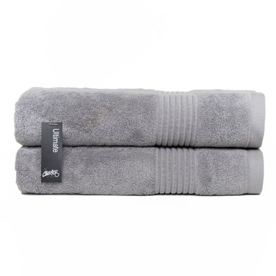 Ultimate Bath Sheet Color: Pewter
