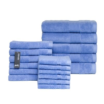 Ultimate 17 Piece Towel Set Color: Chambray