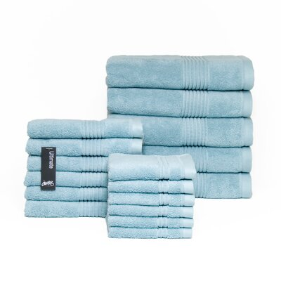 Ultimate 17 Piece Towel Set Color: Egg Shell