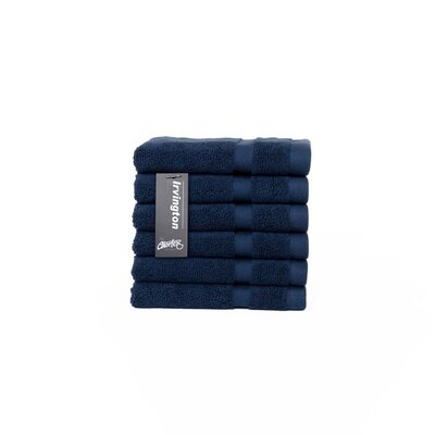 Irvington Washcloth Color: Navy