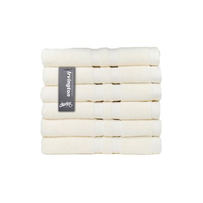 Irvington Hand Towel Color: Cream
