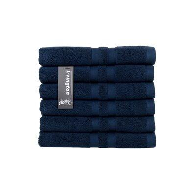 Irvington Turkish Cotton Hand Towel Color: Navy