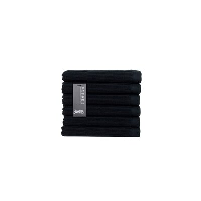 Oxford Washcloth Color: Black