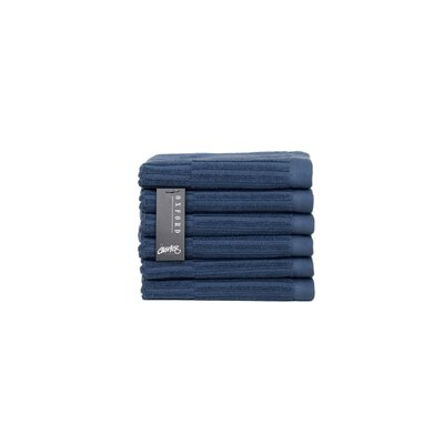 Oxford Washcloth Color: Pale Midnight