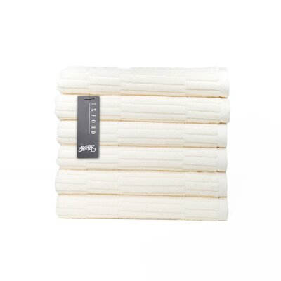 Oxford Hand Towel Color: Almond