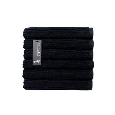 Oxford Hand Towel Color: Black