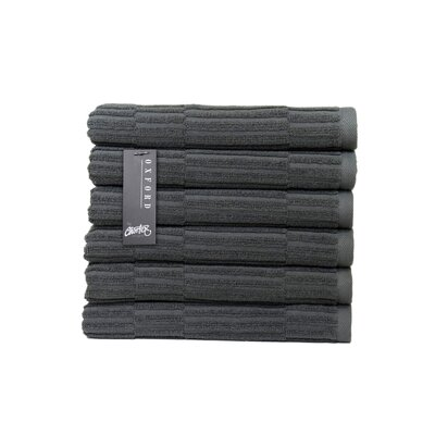 Oxford Hand Towel Color: Dark Slate