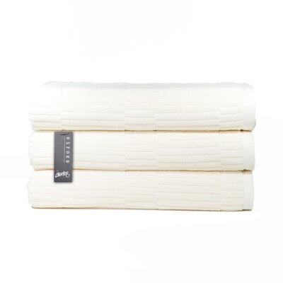 Oxford Bath Towel Color: Almond