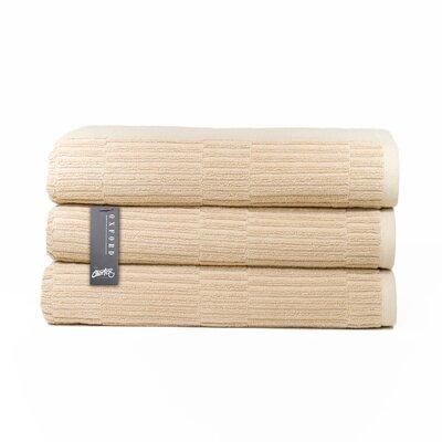 Oxford Bath Towel Color: Linen