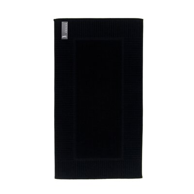 Oxford Bath Rug Color: Black