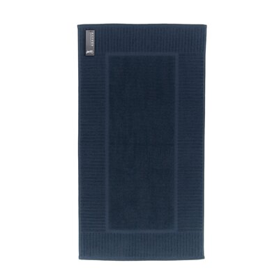 Oxford Bath Rug Color: Pale Midnight
