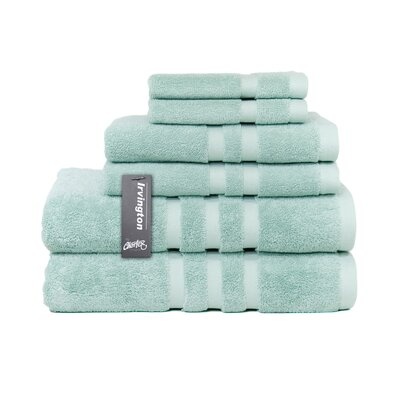 Irvington 6 Piece Towel Set Color: Mineral