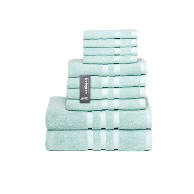 Irvington 10 Piece Towel Set Color: Mineral