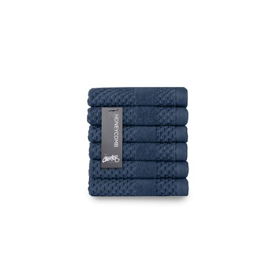 Honeycomb Washcloth Color: Navy