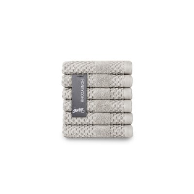 Honeycomb Washcloth Color: Silver