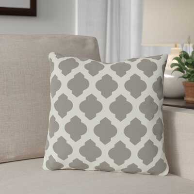 Flannigan Throw Pillow Size: 16 H x 16 W, Color: Gray