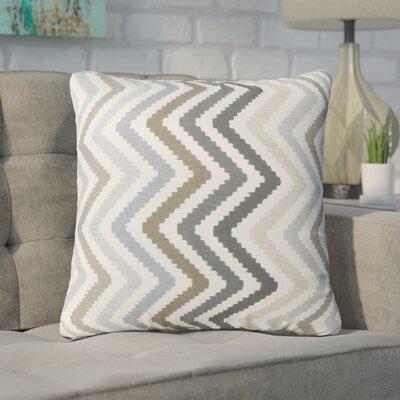 Swiger Chevron Square Indoor/Outdoor Throw Pillow