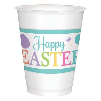 Lovely Easter Plastic Cup 421591