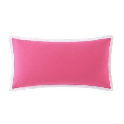 Bold Floral Cotton Lumbar Pillow