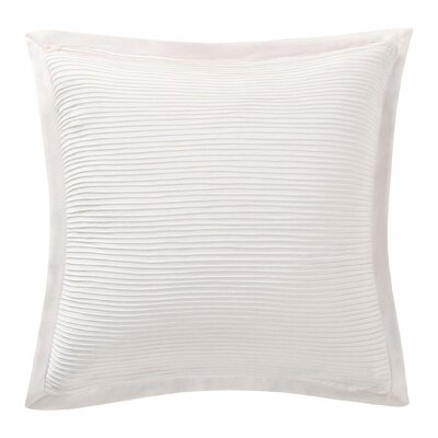 Luxe Throw Pillow Color: Ivory