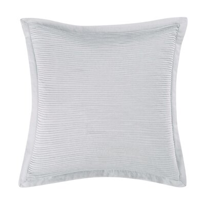 Luxe Throw Pillow Color: Gray