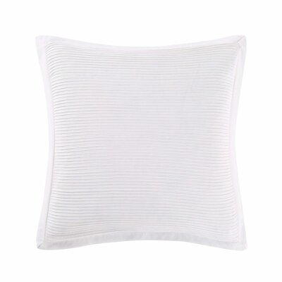 Luxe Throw Pillow Color: White