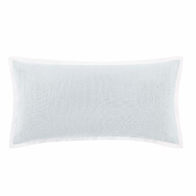 Stem Floral Cotton Lumbar Pillow