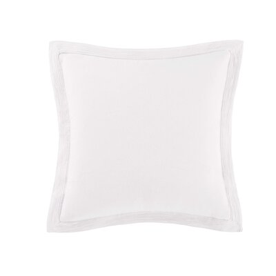 Luxe Euro Sham Color: White