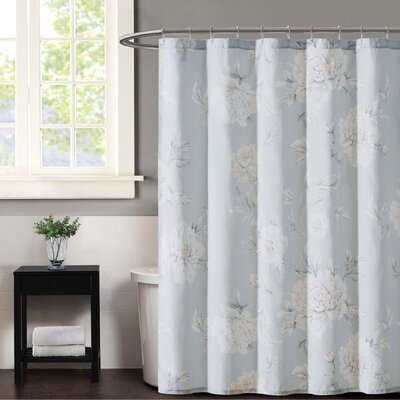 Stem Floral Shower Curtain