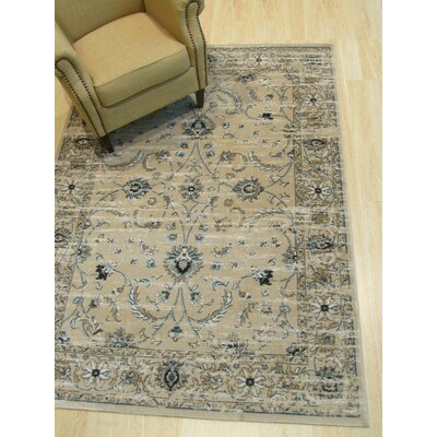 Huckabee Distressed Gray Area Rug Rug Size: Rectangle 5'3