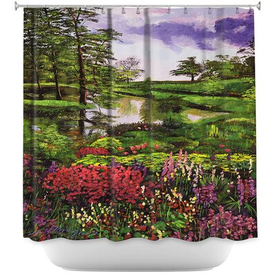 Lakeside Garden Shower Curtain