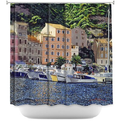 Riviera Morning Shower Curtain