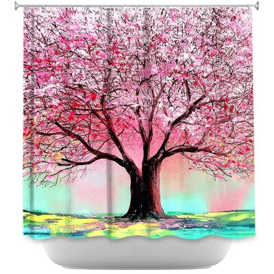 Chesney Story of the Tree lxxiv Shower Curtain