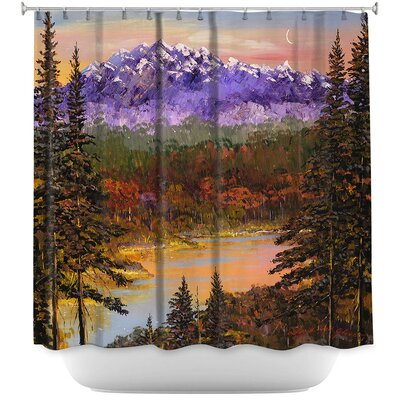 Silent Vision Shower Curtain