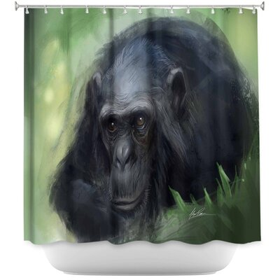Chimpanzee Shower Curtain