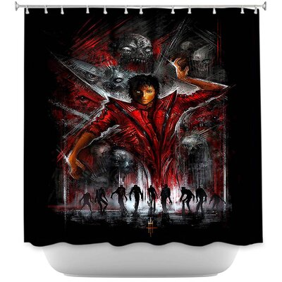 Thriller Michael Jackson Shower Curtain