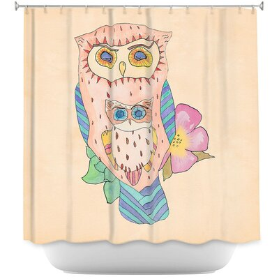 Southwest Owls I Shower Curtain